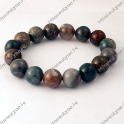 Bracelet Agate indienne 12mm