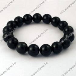 Bracelet Obsidienne Oeil céleste 12mm