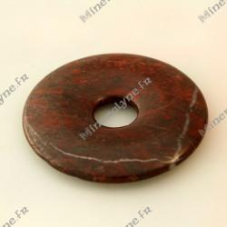 Donut Jaspe Rouge 50mm
