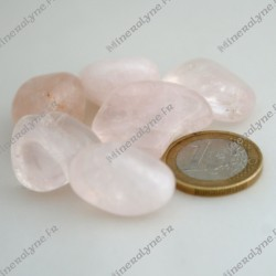Pierres roulées Quartz Rose