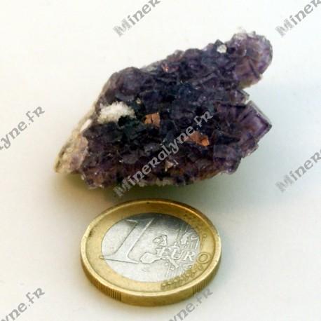 Fluorite mauve d'Espagne (16 g)