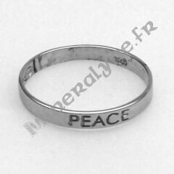 Bague Argent 925 Peace