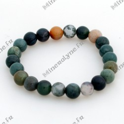Bracelet Agate indienne 8 mm