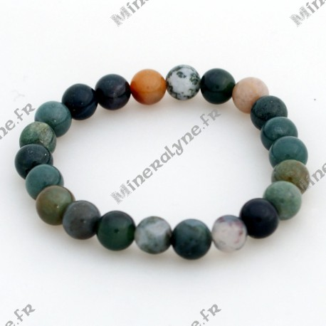 Bracelet Agate indienne 8mm