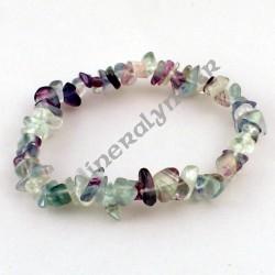 Bracelet baroque Fluorite (Fluorine)