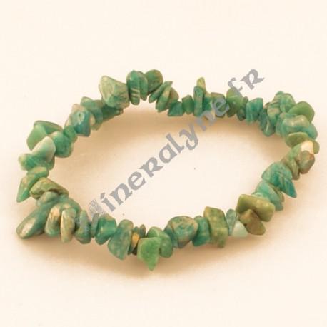 Bracelet baroque Amazonite