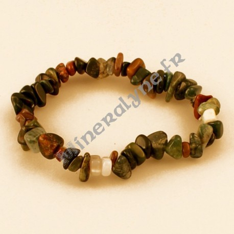 Bracelet baroque Agate indienne