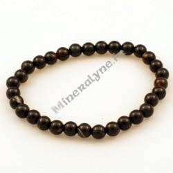 Bracelet Agate Onyx 6mm