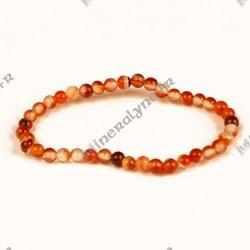 Bracelet Cornaline enfant 4mm