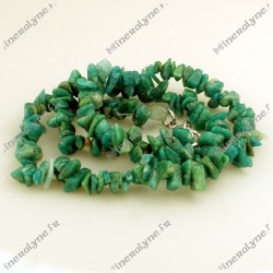 Collier baroque Amazonite 42 cm