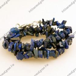 Collier baroque Lapis lazuli 45 cm