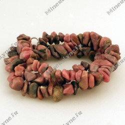Collier baroque Rhodonite 42cm