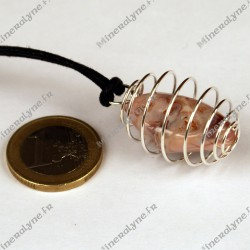 Collier cage GM Agate