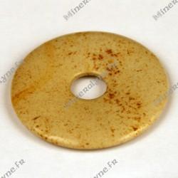 Donut Jaspe Paysage 40mm