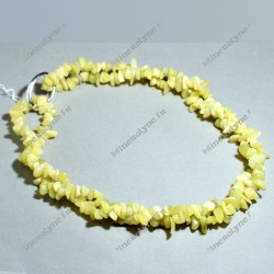 Collier baroque 90 cm New jade